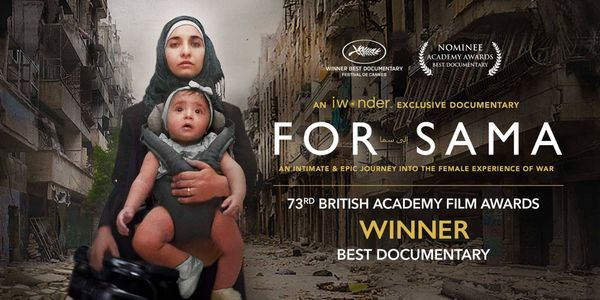 "Oscar nominee ""For Sama"" exclusively on iwonder"