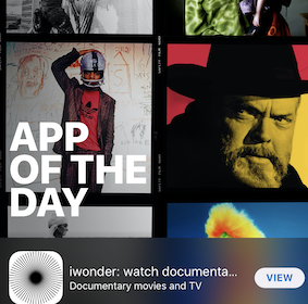 iwonder is Apple's App of the Day